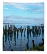 Astoria Ships II Fleece Blanket