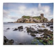 At The Dreamscape Ruins Fleece Blanket