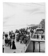 Atlantic City: Boardwalk Fleece Blanket