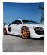 Audi R8 Fleece Blanket
