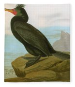 Audubon: Cormorant Fleece Blanket