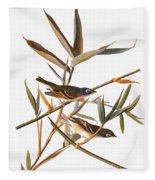 Audubon: Vireo Fleece Blanket