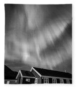 Aurora Tasiilaq Greenland 7839 Fleece Blanket