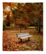 Autumn Splendors Fleece Blanket
