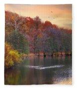 Autumn's Allure Fleece Blanket