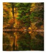 Autumns Calm Fleece Blanket
