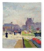 Avenue Paul Deroulede Fleece Blanket