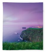 Azores Coastal Landscape Fleece Blanket