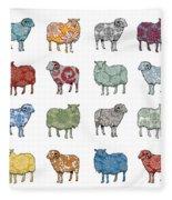 Baa Humbug Fleece Blanket