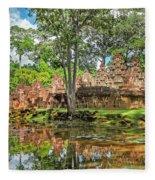 Banteay Srei Temple - Cambodia Fleece Blanket