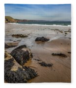 Barafundle Bay Fleece Blanket
