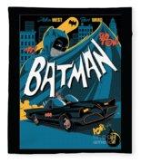 Batman Art Fleece Blanket