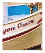 Bayou Queen Fleece Blanket