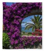 Beautiful Ischia Fleece Blanket