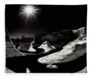 Beautiful Lake Powell Fleece Blanket