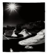 Beautiful Lake Powell Fleece Blanket