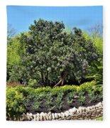 Beauty In The Garden Fleece Blanket