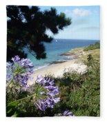 Bel-ile-en-mer Fleece Blanket