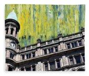 Belfast Architecture 6 Fleece Blanket