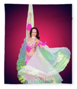 Belly Dancer  Fleece Blanket