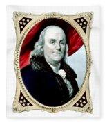 Ben Franklin - Two Fleece Blanket