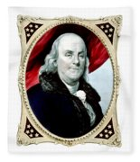 Ben Franklin - Two Fleece Blanket