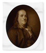 Benjamin Franklin - Three Fleece Blanket