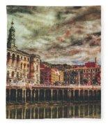 Bilbao Fleece Blanket