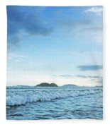 Binh Hai Beach, Quang Ngai Fleece Blanket