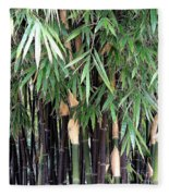 Black Bamboo Fleece Blanket