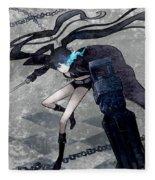 Black Rock Shooter Fleece Blanket