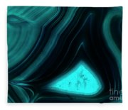 Blue Agate Fleece Blanket