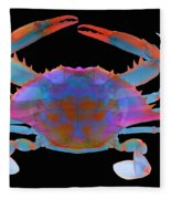 Blue Crab, X-ray Fleece Blanket