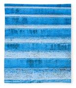Blue Steps Fleece Blanket