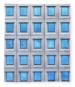 Blue Windows Fleece Blanket