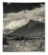 Bnw Volcan De Fuego - Sacatepequez Fleece Blanket