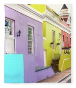 Bo Kaap 1 Fleece Blanket