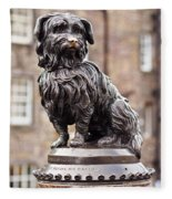 Bobby Statue, Edinburgh, Scotland Fleece Blanket