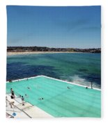 Bondi Beach Fleece Blanket