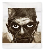 Boris Karloff  Fleece Blanket