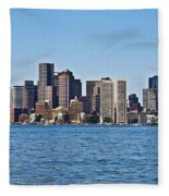 Boston Mar142 Fleece Blanket