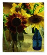 Bottled Sunshine  Fleece Blanket