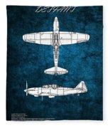 Boulton Paul Defiant Fleece Blanket