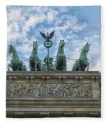 Brandenburger Gate, Berlin Fleece Blanket