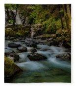 Brandy Creek Falls Fleece Blanket