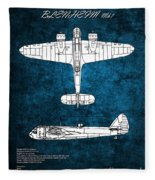 Bristol Blenheim Fleece Blanket