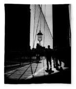 Brooklyn Shadows Fleece Blanket