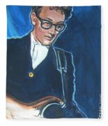 Buddy Holly Fleece Blanket