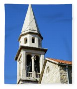Budva, Montenegro  Fleece Blanket