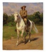 Buffalo Bill Fleece Blanket